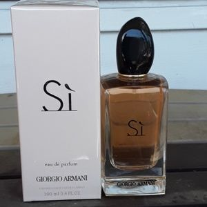 Brand New Armani Si E.D.P. 3.4oz Never Opened
